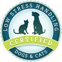 Low Stress Dog Handling certified